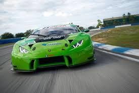 Lamborghini Huracan Green - lamborghini track day randy pobst drives three huracáns