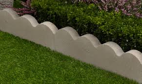 Patio Edging Options by Grey Garden Edging Diy