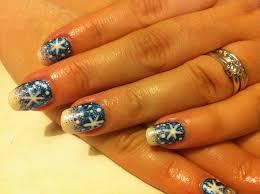 brush up and polish up cnd shellac christmas nail art 3 blue