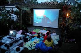 outdoor projector screens u2014 jen u0026 joes design best outdoor