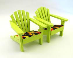 Miniature Adirondack Chair Green Mini Wooden Adirondack Chair Fairy Garden Cake Topper