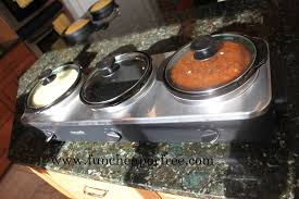 3 Crock Slow Cooker Buffet by Baked Potato Bar Crock Pot Baked Potatoes Fun Cheap Or Free