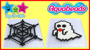 halloween spooky toys video for kids diy aquabeads youtube