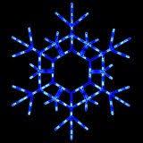 Blue Snowflakes Decorations Amazon Com Led Hanging Snowflake Decorations Christmas