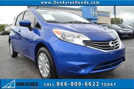 nissan versa o d off pre owned 2015 nissan versa note sv 4d hatchback near fort wayne