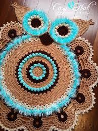 Crochet Owl Rug Give Away Over At Ira Rott Designs Who Wouldn U0027t Want This