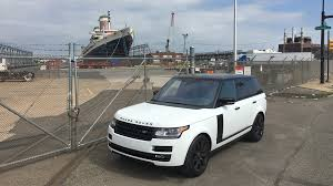 land rover white black rims 2017 land rover range rover hse review a road going ocean liner