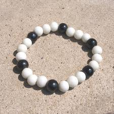 white beaded bracelet images Black and white bracelet centerpieces bracelet ideas jpg