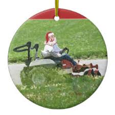 lawn mowing ornaments keepsake ornaments zazzle