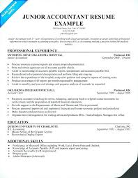 accountant resume format accountant resume format for experienced sle resume junior