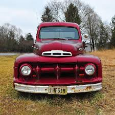 Classic Ford Truck Bumpers - old ford truck photograph by brian mollenkopf