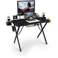Console Gaming Desk Atlantic Gaming Desk Pro Dorm Room Computer Laptop Speaker