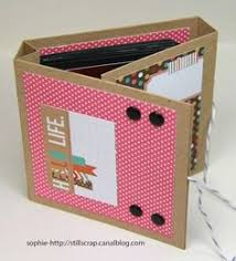 scrapbook albums mini dans un cube still scrap de soph twine scrapbook and