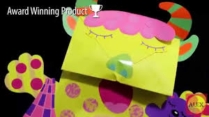 alex toys paper bag monsters craft kit 1512 youtube