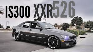 stanced lexus is300 white lexus is300 xxr hundred dollar deep 526 youtube