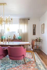 a vintage splendor mid century modern dining room reveal