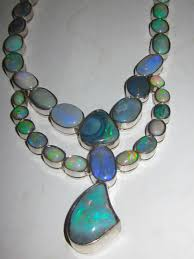 opal jewelry necklace images Opals from official government heritage site in australia jpg