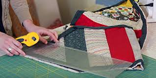 incredibly easy quilted table runner tutorial diy
