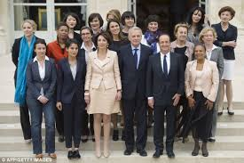 Cabinet President Hollande U0027s Honeys New French President Francois Hollande Unveils