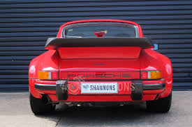 porsche turbo classic sold porsche 930 turbo coupe auctions lot 23 shannons