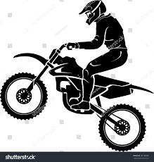 motocross freestyle riders motocross rider silhouette stock vector 285189368 shutterstock