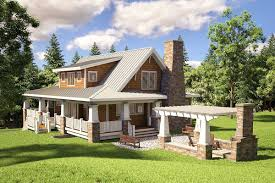 Cottage House Plans With Wrap Around Porch Apartments Wrap Around Porch Cabin Wrap Around Porch For Ranch
