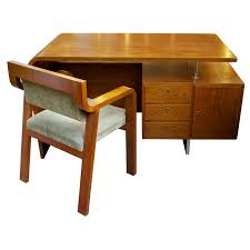 Streamline Moderne Furniture by Streamline Moderne Desk And Chair Saturday Sale At 1stdibs