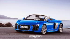convertible audi 2016 2016 audi r8 spyder rendered u2026 in different colors autoevolution