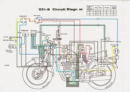 xs1b motor bike wiring diagram all