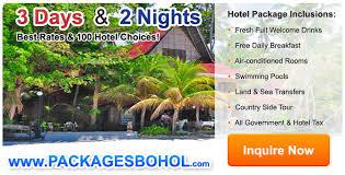 3 days 2 nights bohol hotel packages bohol