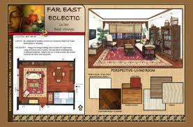 Floor Plan And Perspective Far East Eclectic Residential Design By Kerrin Willett At