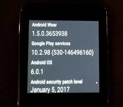 android security update samsung gear live is getting the january security update goandroid