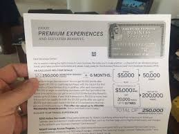 Business Platinum Card Amex 250 000 Mr Targeted Business Platinum Need Ten 5k Individual
