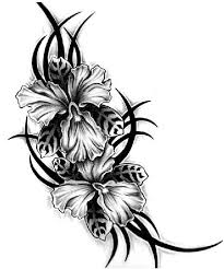 tribal flower tattoo designs free download clip art free clip