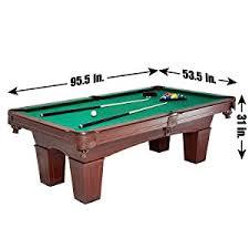 pool table black friday amazon com md sports traditional square leg billiard table 8