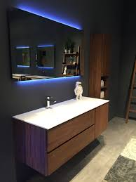 Contemporary Bathroom Storage Cabinets Bathroom Fresca Cristallino Modern Glass Bathroom Vanity With
