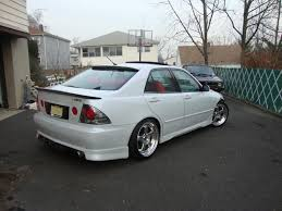 lexus is300 exhaust system lexus is300 with ssr sp1 more japan blog
