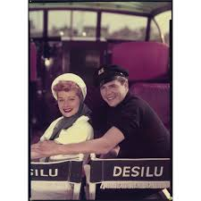 Desi Arnes by Lucille Ball And Desi Arnaz Color Transparencies