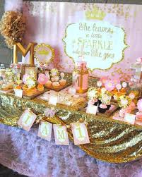 party ideas pink and gold sparkle party birthday party ideas 2572533 weddbook