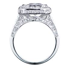 faux engagement rings 5 ct cz engagement ring