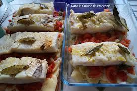 cuisiner la morue à la portugaise morue à la mode portugaise bacalhau dans la cuisine de françoise