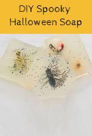 hello wonderful diy spooky halloween soap