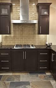 stupendous subway tile kitchen backsplash with dark cabinets 76