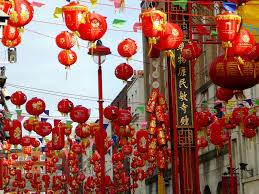 lanterns new year new year lanterns
