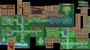 Map Of Hyrule The Video Game Atlas Gcn Maps
