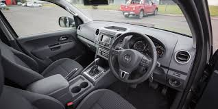 volkswagen amarok interior nissan navara st x v volkswagen amarok highline tdi420 dual cab