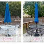 Best Way To Paint Metal Patio Furniture Painting Metal Patio Chairs Landscaping Gardening Ideas