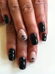 princess crown nails nails pinterest crown nails disney