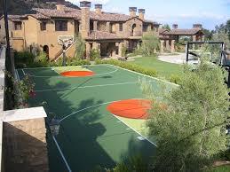 Backyard Sports Court by Basketball Courts Sport Court Of Massachusetts
