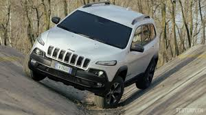 jeep cherokee gray 2017 jeep cherokee trailhawk off road test ground youtube